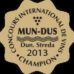 Samolepka Champion 2013